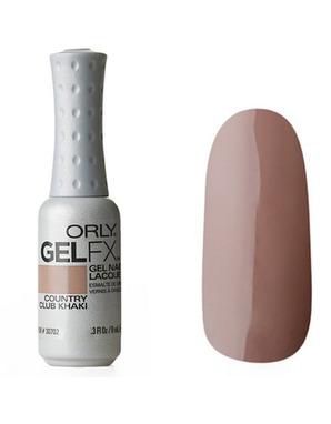 ORLY GEL FX, ЦВЕТ #30702 COUNTRY CLUB KHAKI
