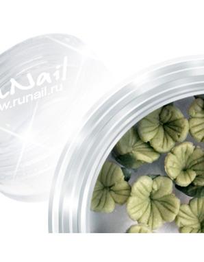 RUNAIL, ДИЗАЙН ДЛЯ НОГТЕЙ: ПЛАСТИКОВЫЕ ЦВЕТЫ (3D FLOWER B) 3DSB012 В ПЛАСТИКОВОЙ БАНКЕ