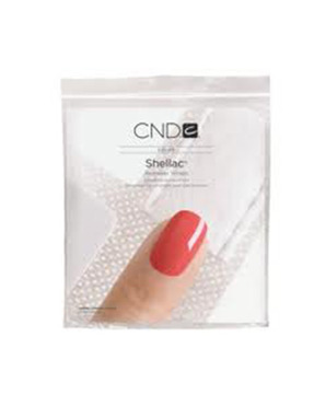 SHELLAC CND REMOVER WRAPS 100 ШТУК