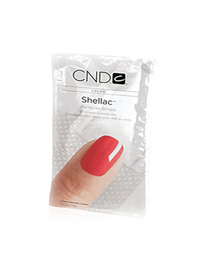 SHELLAC CND REMOVER WRAPS 10 ШТУК