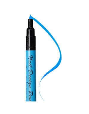 SINA NAIL DESIGN PEN BLUE