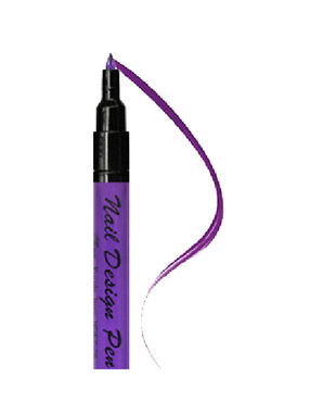 SINA NAIL DESIGN PEN PURPLE