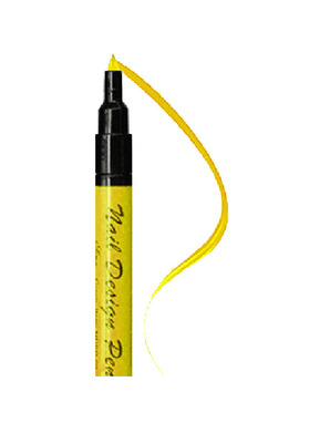 SINA NAIL DESIGN PEN YELLOW